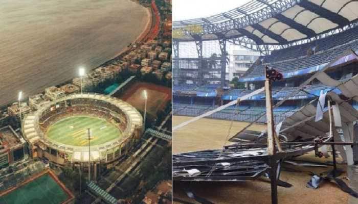 Cyclone Tauktae wreaks havoc at iconic Wankhede Stadium in Mumbai, pic goes viral
