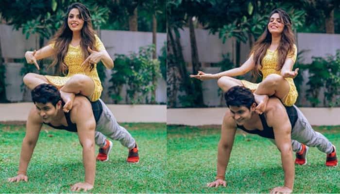 The Kapil Sharma Show Sanket Bhosale wishes wife Sugandha Misha on her birthday with cutest photos!
