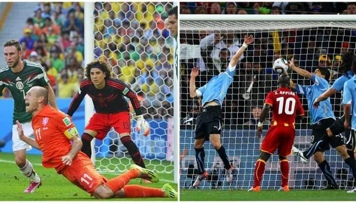 Arjen Robben's dive to Luis Suarez's handball, five controversial moments in FIFA World Cup history
