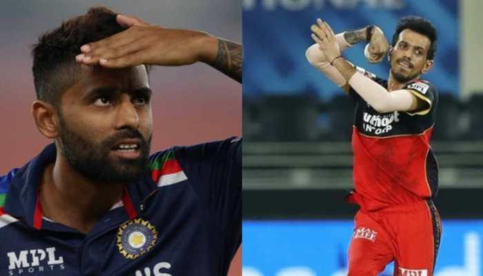 Suryakumar Yadav trolls Yuzvendra Chahal after spinner crashes Mumbai Indian batsman's live interview - WATCH
