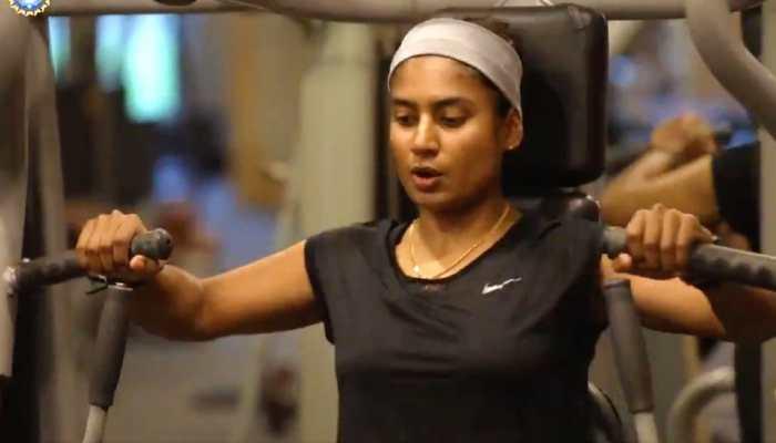 Mithali Raj, Harmanpreet & Co. sweat it out in quarantine ahead of England tour, Watch