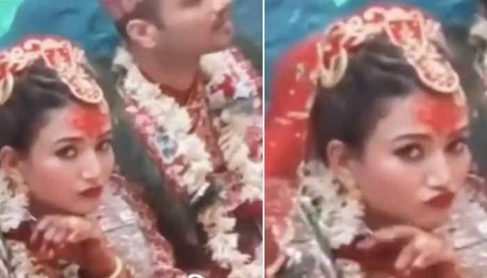 Bindass Bride poses for camera, surprises everyone- WATCH viral video