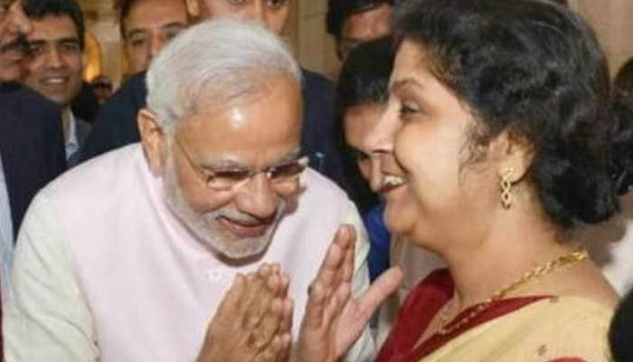 Former Prasar Bharati CEO shares morphed image of PM Modi, draws flak