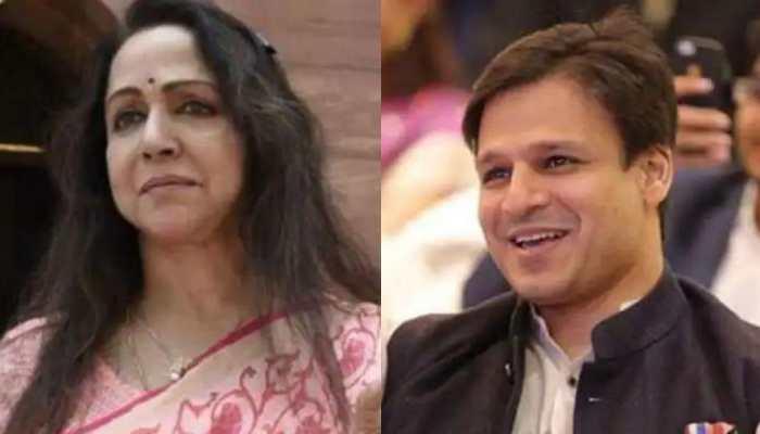 Hema Malini lauds Vivek Oberoi for 'I Am Oxygen Man' initiative amid COVID-19