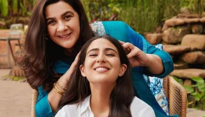 Sara Ali Khan's fresh pic with mommy Amrita Singh is too cute to be missed!