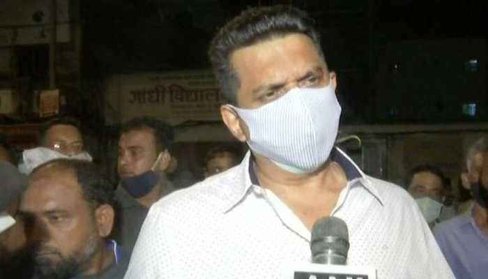 Maharashtra Minister Aslam Shaikh blames rain for 4-storey building collapse in Mumbai
