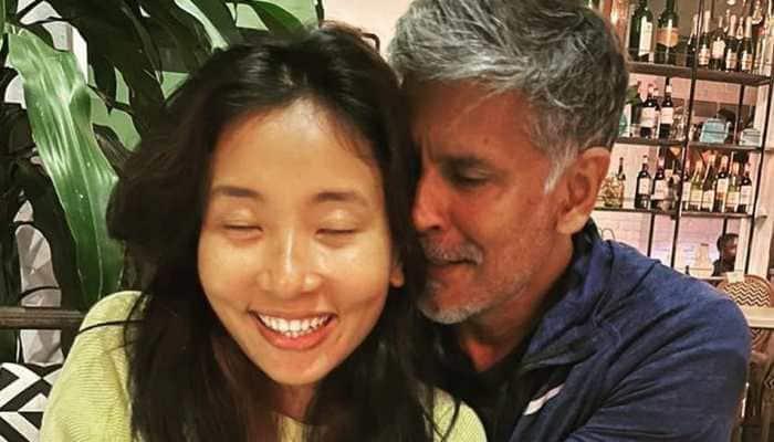 Milind Soman's wife Ankita Konwar's epic reply on 'marrying older man' is winning internet!