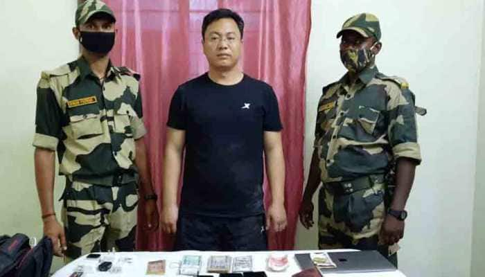 Chinese intruder arrested in West Bengal's Malda, laptop, mobile phones, Indian and foreign currencies seized
