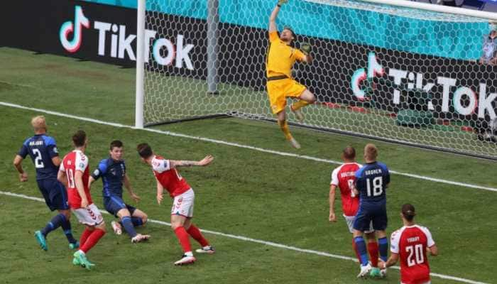 UEFA Euro 2020: Denmark game overshadowed by Eriksen collapse as Finland win 1-0