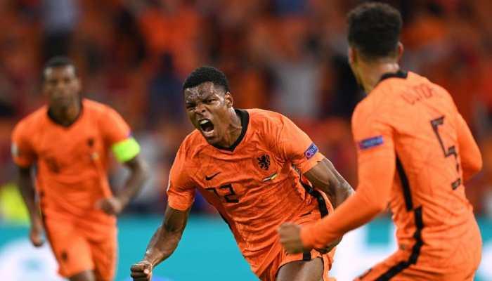 Euro 2020: Late Denzel Dumfries header secures Dutch win in 5-goal thriller against Ukraine