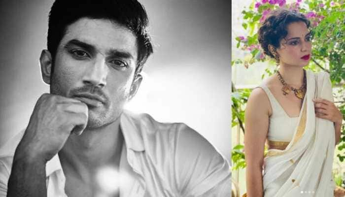 Kangana Ranaut remembers Sushant Singh Rajput, shares a picture of him on his first death anniversary!