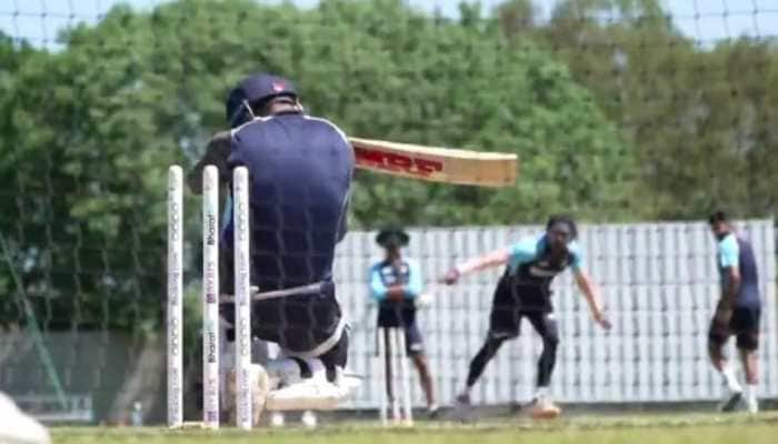 WTC Final: Virat Kohli gets floored by lethal bouncer in nets, video goes viral – WATCH