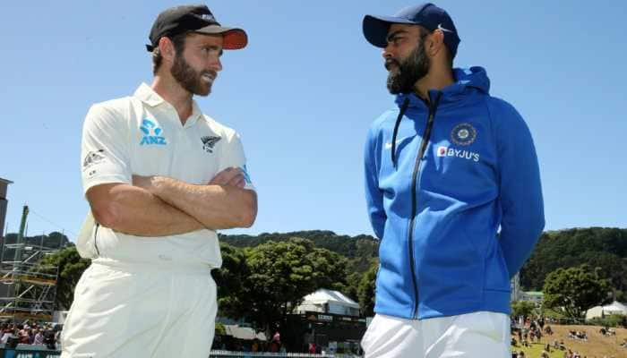 Kane Williamson's New Zealand (left) will take on Virat Kohli's Team India in the inaugural World Test Championship Final in Southampton from June 18. (Source: Twitter)
