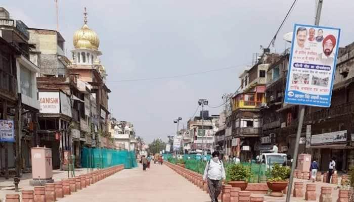Chandni Chowk road closed