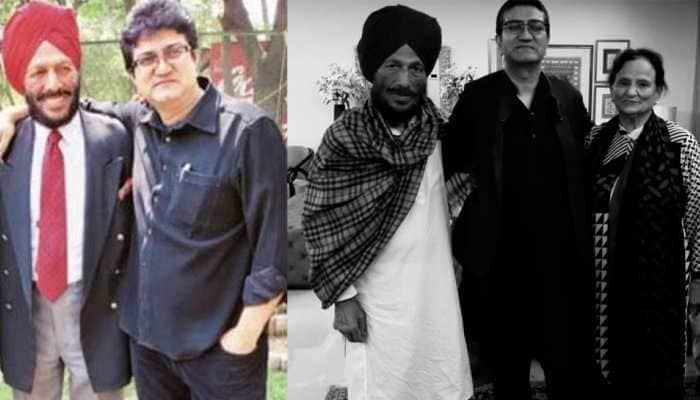 Prasoon Joshi mourns Milkha Singh's demise, says 'woh mushkilon se bhaage nahi, daud lagai unke saath'