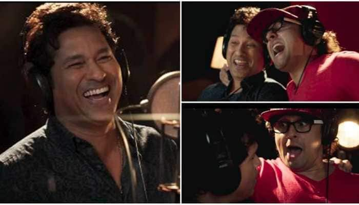 Sachin Tendulkar breaks the internet with throwback video of his singing debut with Sonu Nigam - WATCH