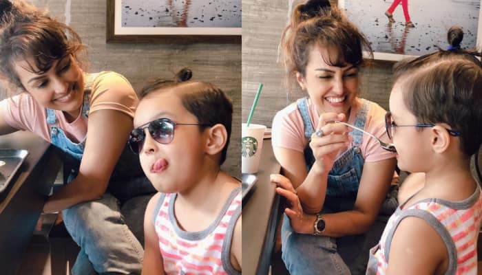 Nisha Rawal shares adorable photos with son Kavish amidst legal battle with husband Karan Mehra