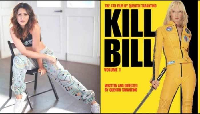 Kriti Sanon to step into Uma Thurman's role in Hindi remake of Quentin Tarantino's 'Kill Bill'?