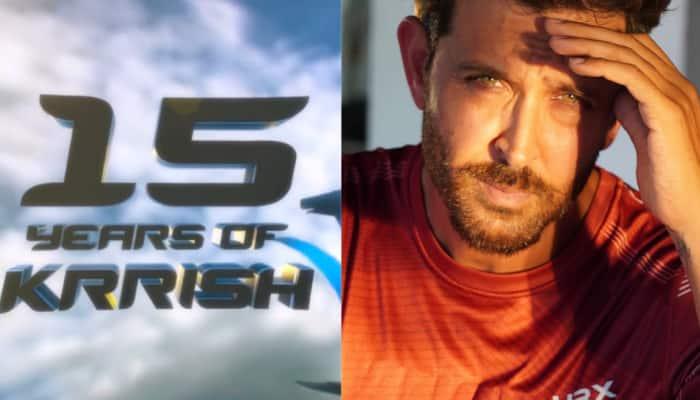 Hrithik Roshan announces 'Krrish 4' on film's 15th anniversary, Tiger Shroff reacts!