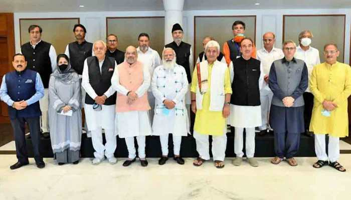 Committed to restoring statehood: PM Narendra Modi tells J&K leaders after all-party meet