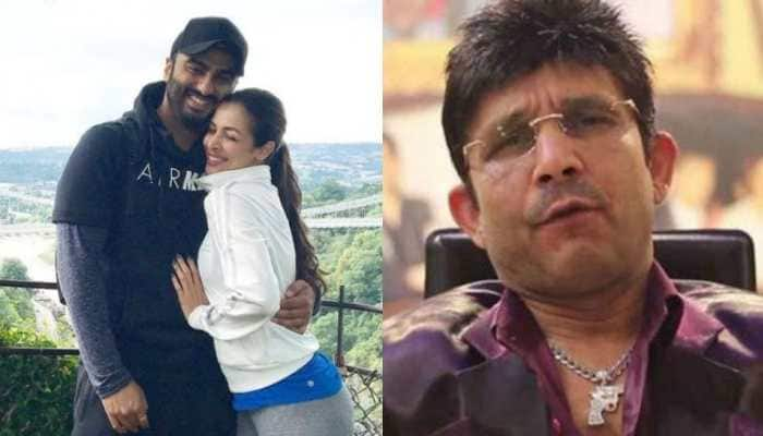 'Tiger Hai Tu': Kamaal R Khan shares Arjun Kapoor-Malaika Arora's pic with cryptic message