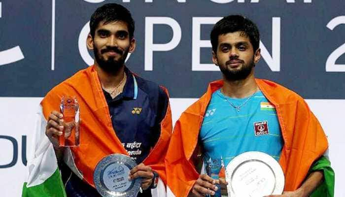 Badminton Association of India recommends Kidambi Srikanth, Sai Praneeth's name for Khel Ratna Award