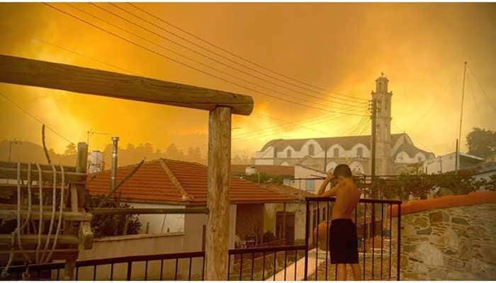 European Union deploys aerial assistance as Cyprus tries to contain 'worst' forest fire