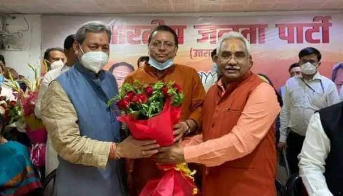 BJP denies reports of rift in party over selection of Pushkar Singh Dhami as Uttarakhand CM