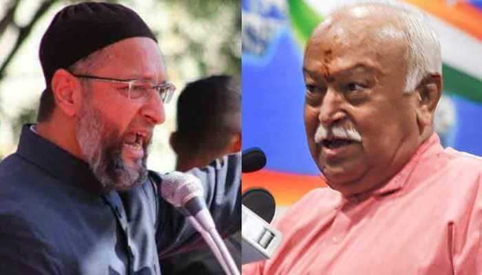 Asaduddin Owaisi hits out at Mohan Bhagwat, says 'Lynching of Muslims result of Nathuram Godse's ideology of Hindutva