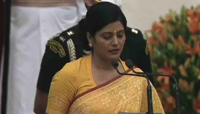 Cabinet expansion: Anupriya Singh Patel takes oath as minister