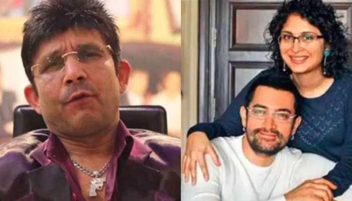 KRK's bizarre reaction to Aamir Khan-Kiran Rao divorce, reveals 'mujhe laga Katrina Kaif ya Fatima Sana Shaikh jaisi khoobsurat ladki se shaadi karega'