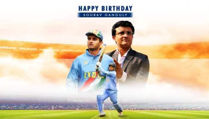 Happy Birthday Sourav Ganguly: Virender Sehwag, VVS Laxman lead wishes for BCCI president