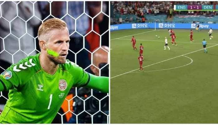 Euro 2020: England face UEFA charges on three incidents, including 'laser pointer' penalty against Denmark