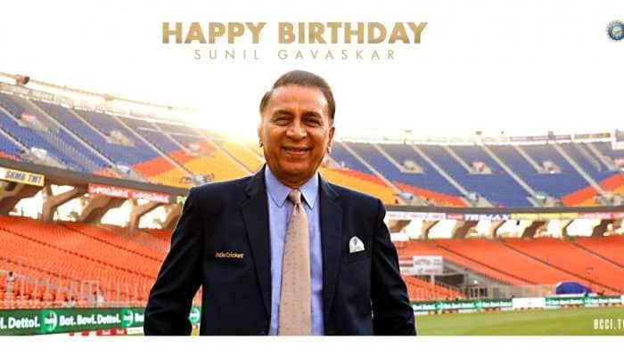 Happy Birthday Sunil Gavaskar: Cricket fraternity wishes 'Little Master' as he turns 72
