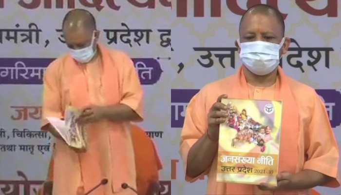 Yogi Adityanath unveils Uttar Pradesh's new Population Policy