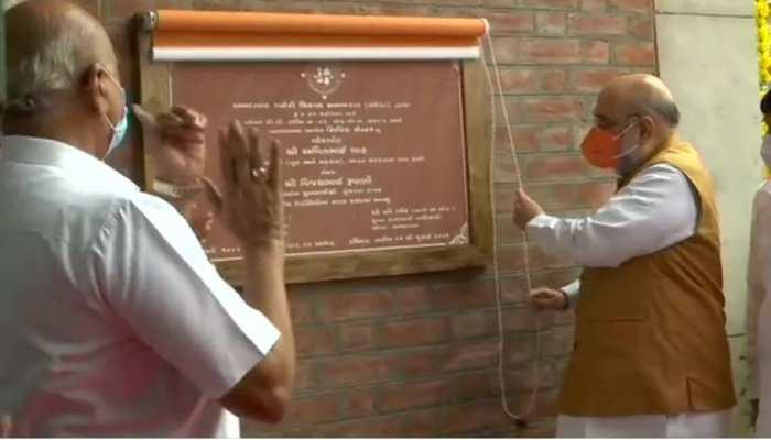 Amit Shah inaugurates City Civic Centre in Gujarat, hails PM Narendra Modi for his development-oriented vision