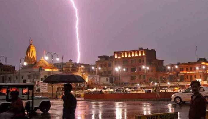Lightning strike kills 56 in Uttar Pradesh, Rajasthan, Prayagraj alone reports 14 deaths
