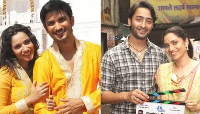 Boycott Pavitra Rishta 2 trends after Sushant Singh Rajput fans give a thumbs down to new pairing of Shaheer Sheikh and Ankita Lokhande!
