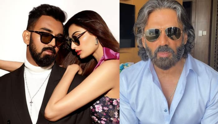 Suniel Shetty calls daughter Athiya Shetty and cricketer KL Rahul a 'good looking couple'