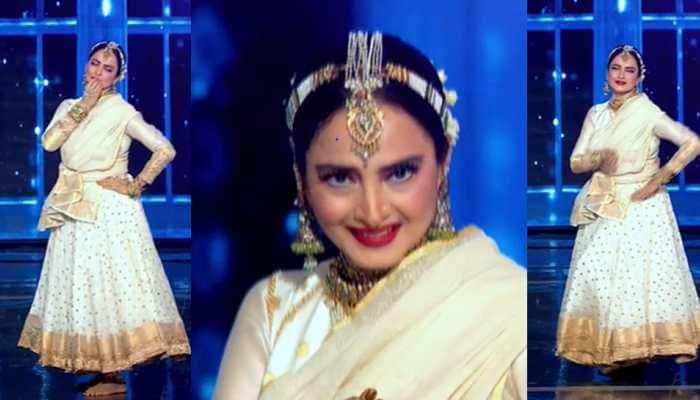 Trending: Actress Rekha recites Gayatri Mantra on Dance Deewane 3 show, leaves everyone speechless - Watch