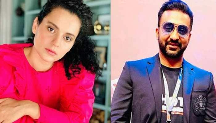 Kangana Ranaut reacts to Raj Kundra's arrest in pornographic films case, says 'will expose underbelly of Bullywood in Tiku weds Sheru'