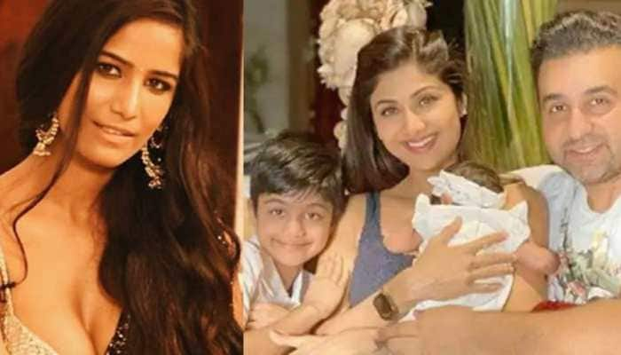Poonam Pandey reacts to Raj Kundra's arrest, says 'my heart goes out to Shilpa Shetty and her kids'