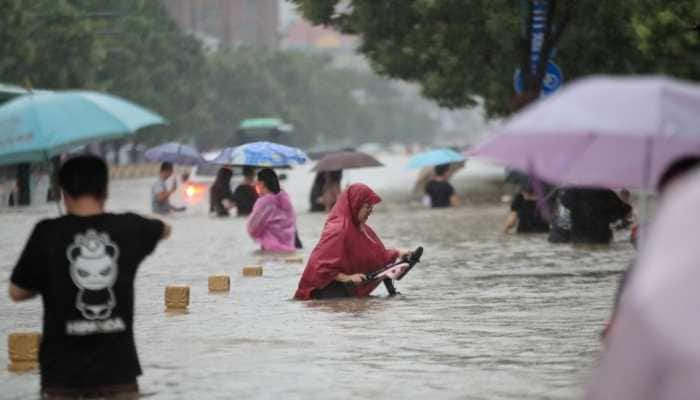 Highest rainfall in 1,000 years! China's central Henan province under water
