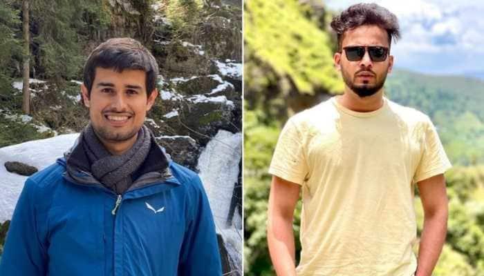 Netizens react to internet war between YouTubers Dhruv Rathee and Elvish Yadav!