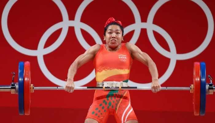 Indian weightlifter Mirabai Chanu