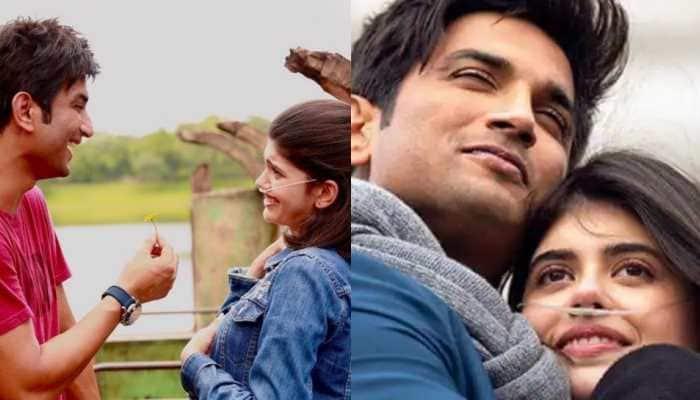 Sanjana Sanghi remembers late co-star Sushant Singh Rajput as their film 'Dil Bechara' clocks one year!