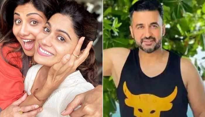 Shamita Shetty extends support to sister Shilpa for 'Hungama 2' amid Raj Kundra's arrest