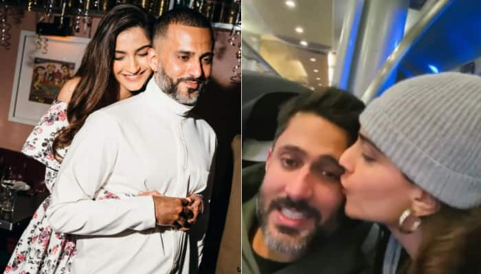 Sonam Kapoor's 'phenomenal' birthday video for her husband Anand Ahuja is adorable! - Watch