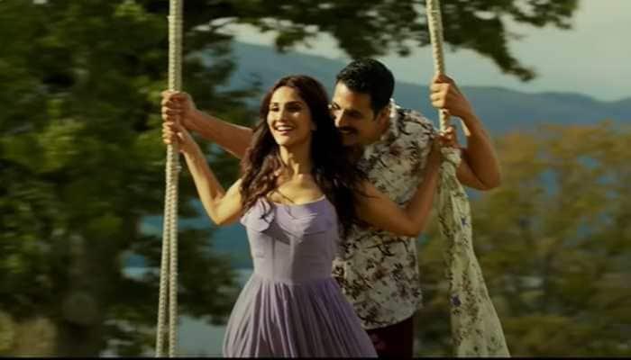 VIDEO: Akshay Kumar and Vaani Kapoor's heartwarming chemistry in 'Marjaawaan' song from Bellbottom - Watch