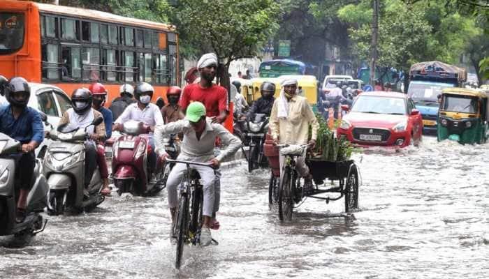 Flooding in Delhi